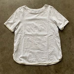Loft Short Sleeve with Detailing on Sleeves